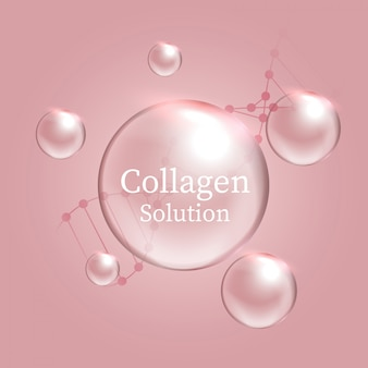 Solução de colágeno
