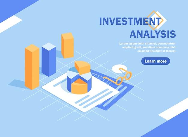 Soluções de comércio para investimentos, conceito de análise. análise de vendas, dados estatísticos de crescimento