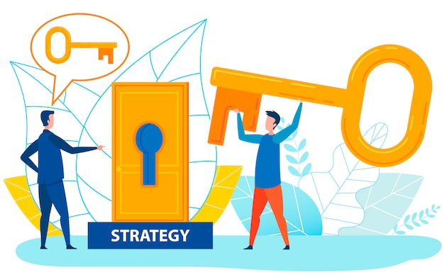 Soluções exigentes da chefe para problemas estratégicos
