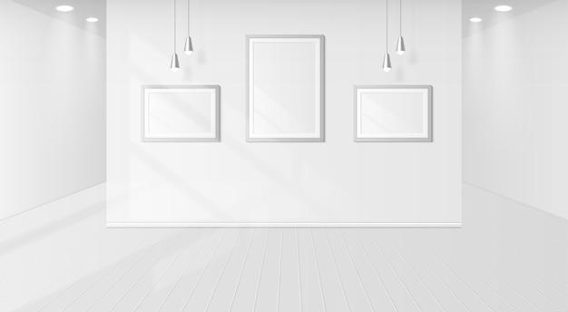 Sombra de janela em uma sala branca
