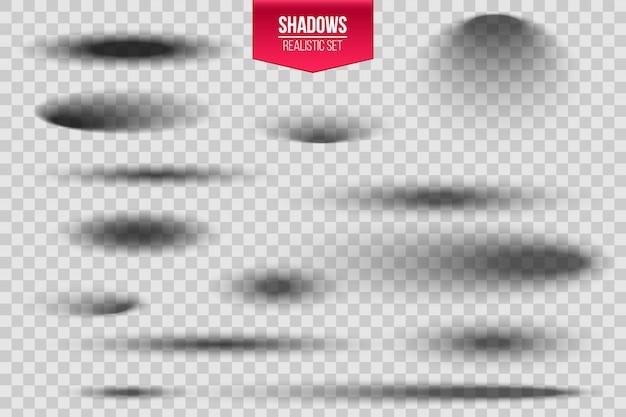 Sombra oval redonda com bordas suaves.