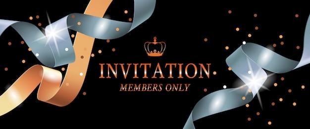 Somente membros do convite banner