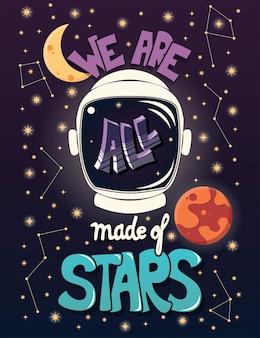Somos todos feitos de estrelas