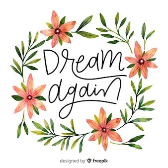 Sonhe novamente