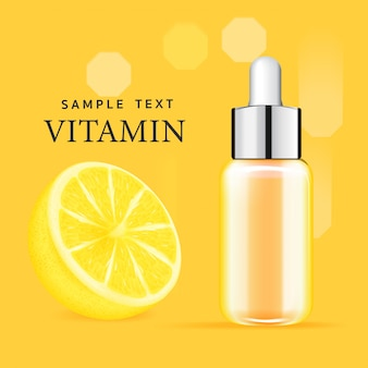 Soro tratamento facial essence skin care cosmetic.