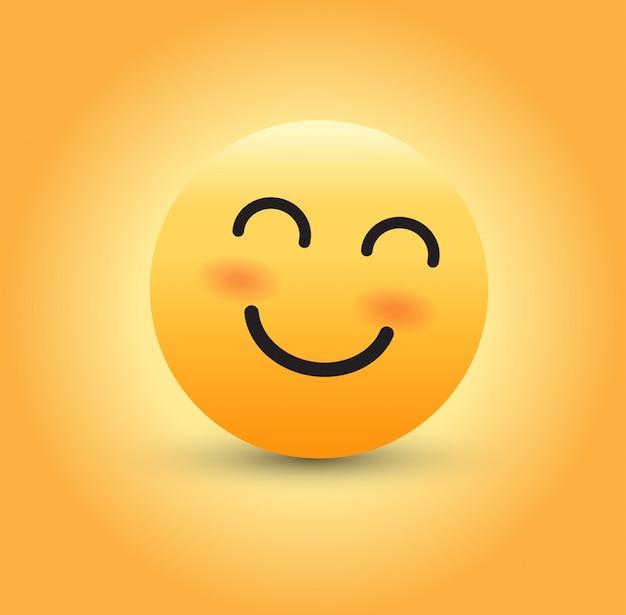 Sorrindo emoji