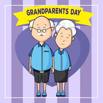 Sorriso do dia dos avós