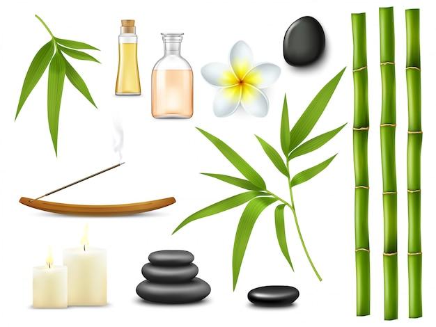 Spa e salão de massagens relaxam os tratamentos