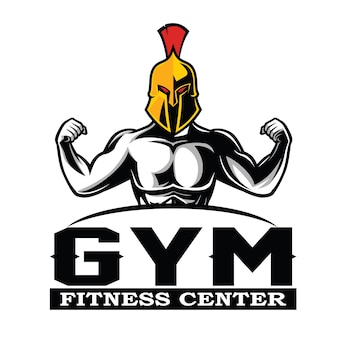 Spartan fitness and gym logo