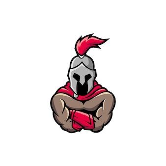 Spartan knight soldado metal grego