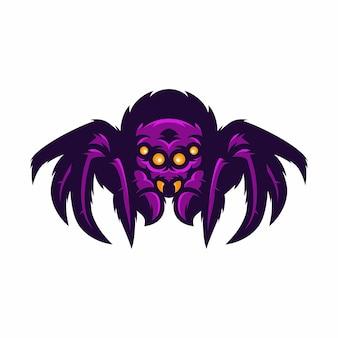 Spider - ilustração do ícone do vetor mascote