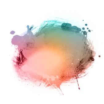 Splatter aquarela