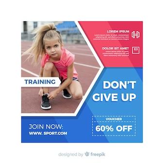 Sport flyer não desista de citação