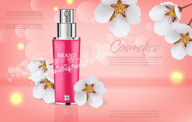 Spray de flor de cerejeira