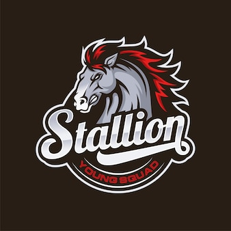 Stallion sports logo