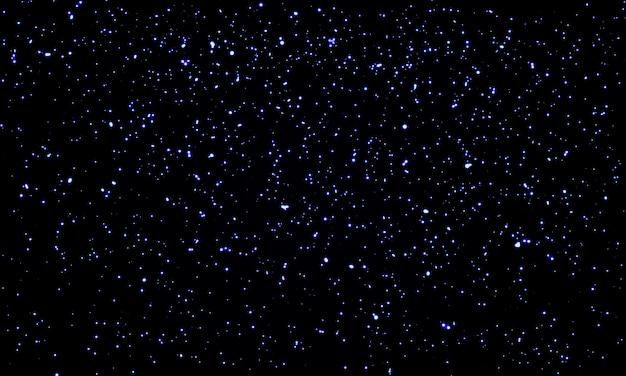 Star sky. fundo de estrelas do espaço. partículas de brilho