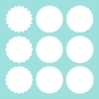 Starburst de venda promocional ou conjunto de adesivos