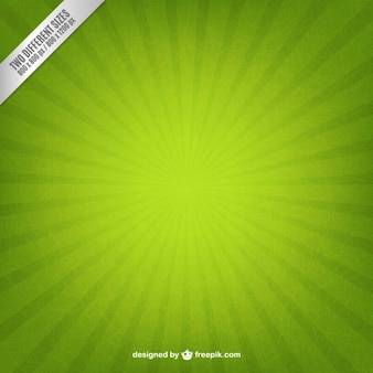 Starburst fundo verde