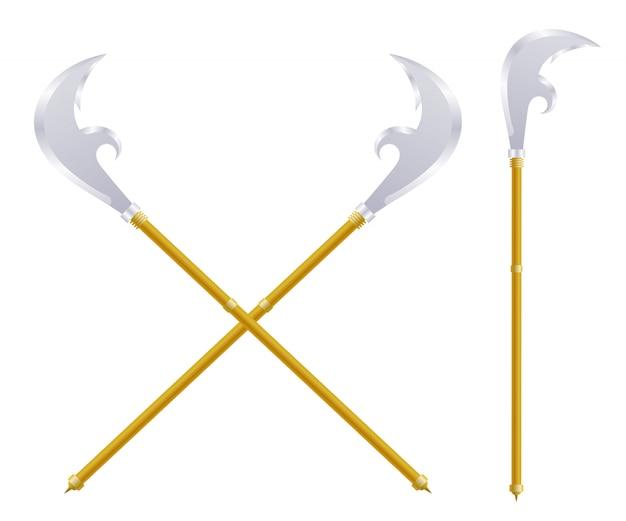Stock spears em branco