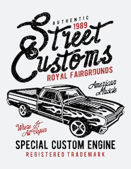 Street custom
