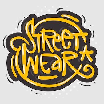 Street wear fashion 90s casual estilo urbano design relacionado a roupas