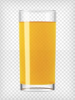Suco de laranja em um copo