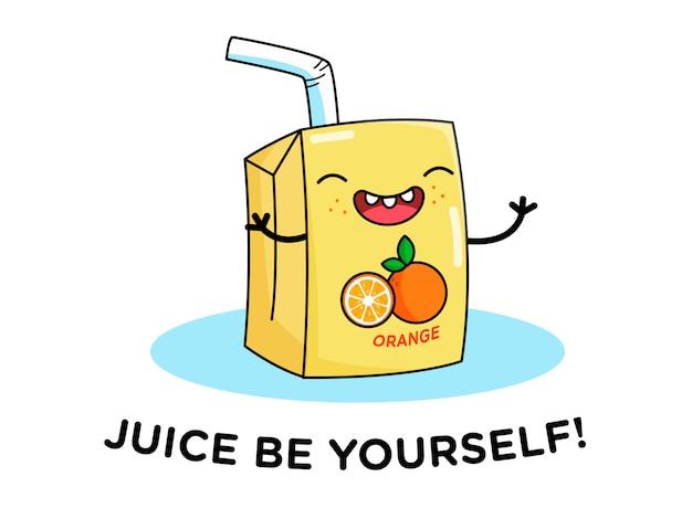 Suco de laranja personagem motivacional citações chalaça