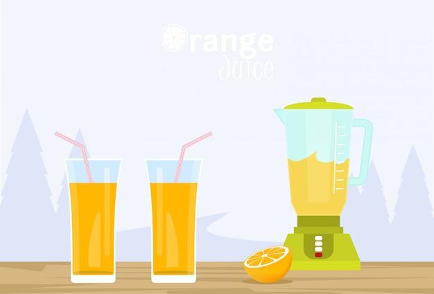 Sucos de laranja