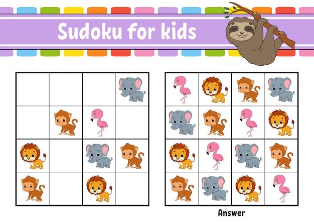 Sudoku para crianças.