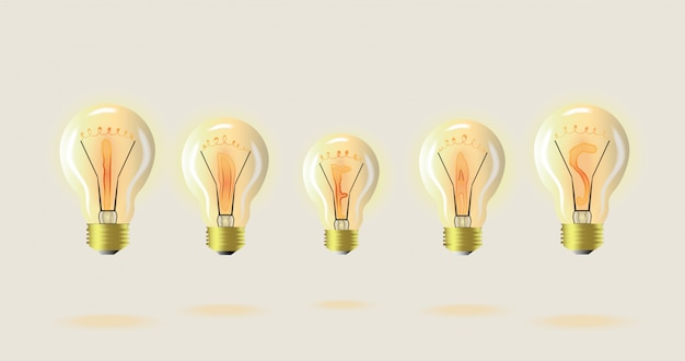 Sugestões de lâmpada