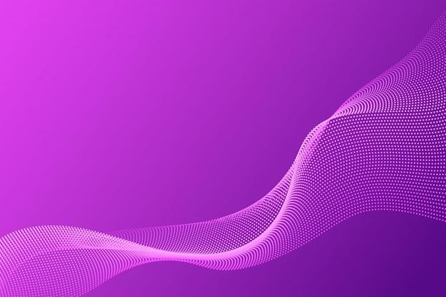 Sumário da onda da partícula para o fundo do negócio com espaço da cópia.