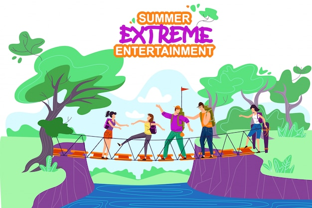 Summer extreme entertainment