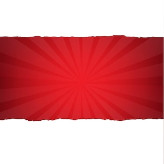 Sunburst vermelho escuro vintage