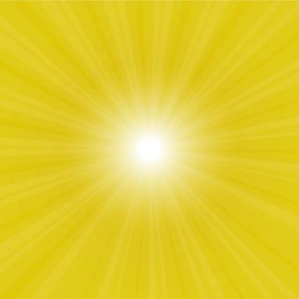 Sunburst volta ilustração
