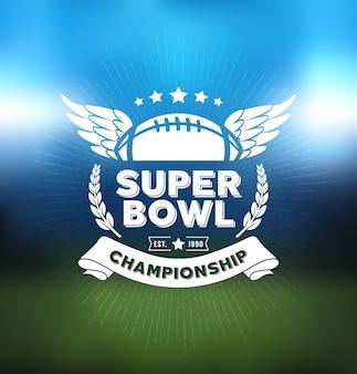 Super bowl championship logo esporte