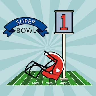 Super bowl de futebol americano