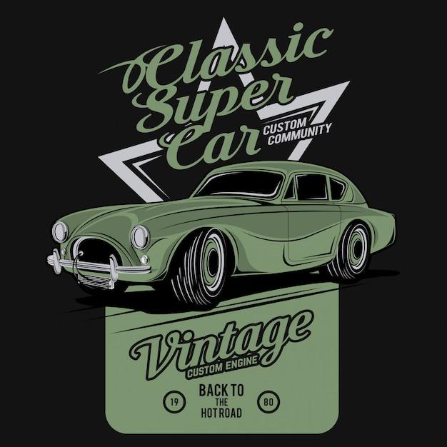 Super carro clássico