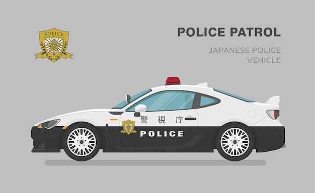 Super carro da polícia japonesa