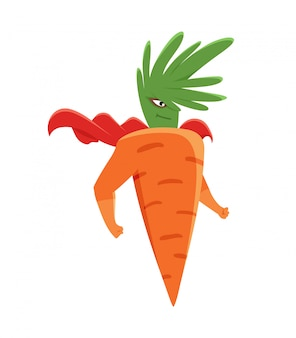 Super-herói cenoura