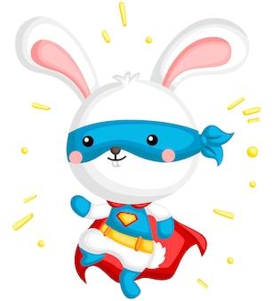 Super-herói de coelho