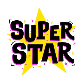 Super star slogan