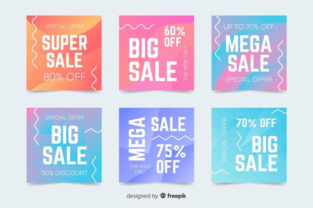 Super venda instagram post coleção