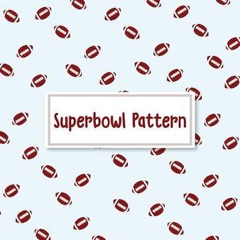 Superbowl bola de futebol americano de fundo