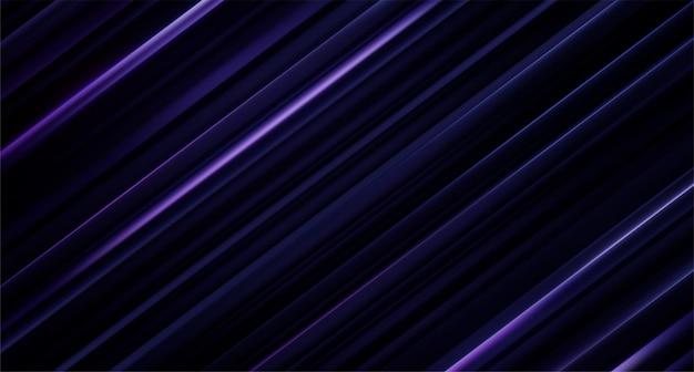Superfície cortada em preto e violeta. abstrato geométrico