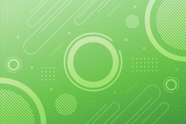 Superfície geométrica verde pálida