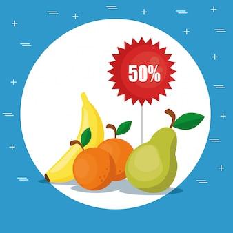 Supermercado mantimentos comida saudável