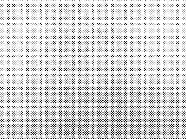 Superposição subtil de textura de vetor de pontos de meio-tom