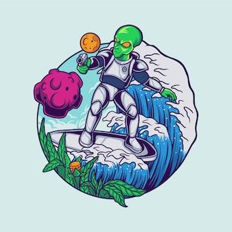 Surfista alienígena