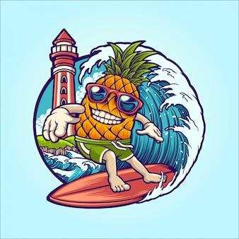 Surfista de verão