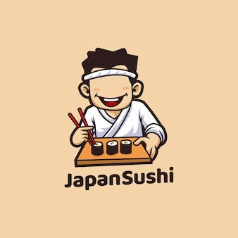 Sushi japão restaurante de frutos do mar asiático
